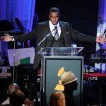 BEVERLY HILLS, CA - FEBRUARY 11:  Producer Sean 'Diddy' Combs onstage at Clive Davis and the Recording Academy's 2012 Pre-GRAMMY Gala and Salute to Industry Icons Honoring Richard Branson held at The Beverly Hilton Hotel on February 11, 2012 in Beverly Hills, California.  (Photo by Kevin Winter/Getty Images)