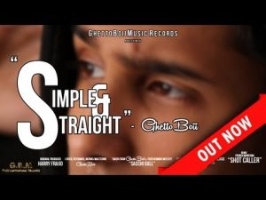 GhettoBoii – Simple & Straight