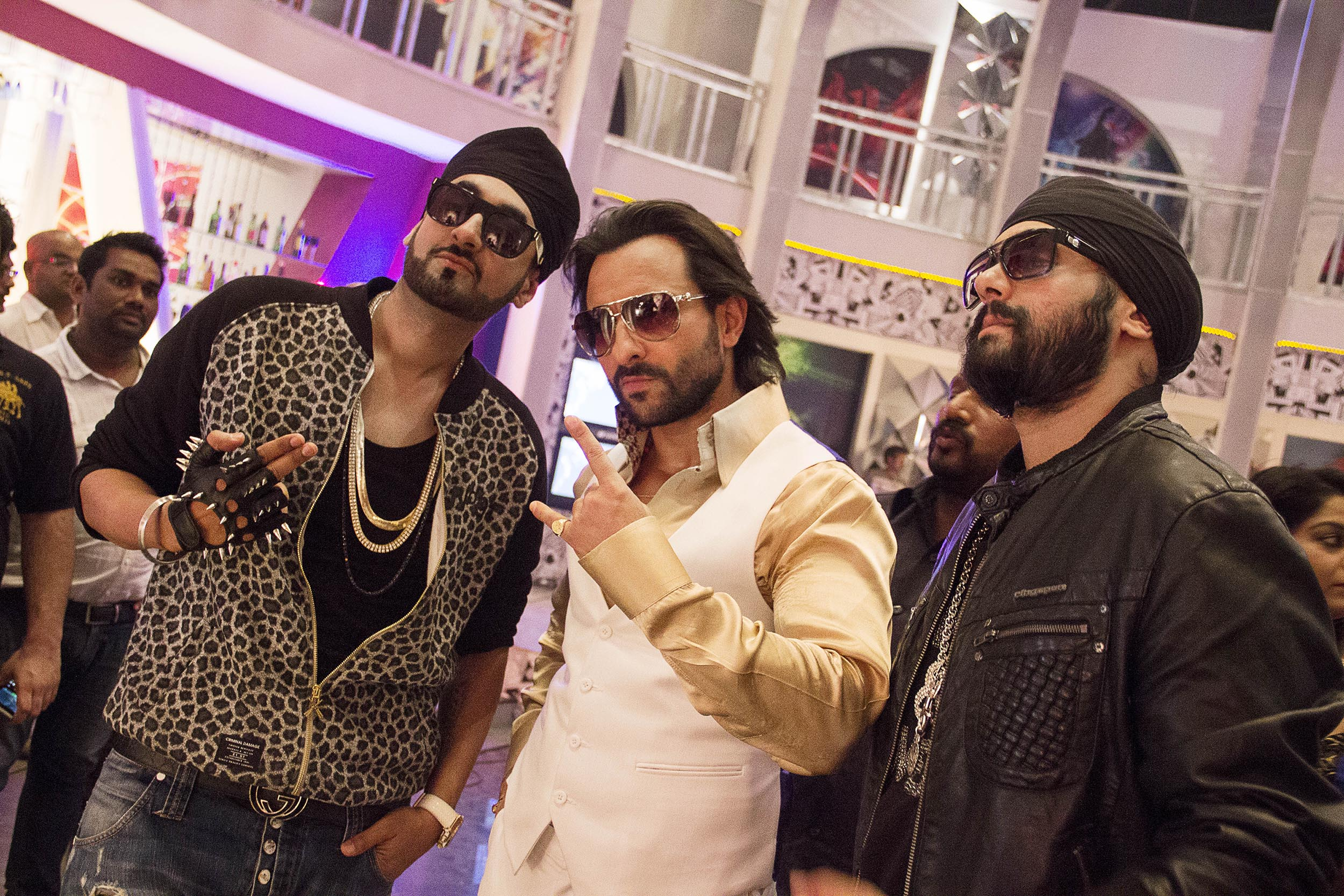 Interview surj Saif Ali Khan with RDB in Tamanche Pe Disco Song from Bullett Raja