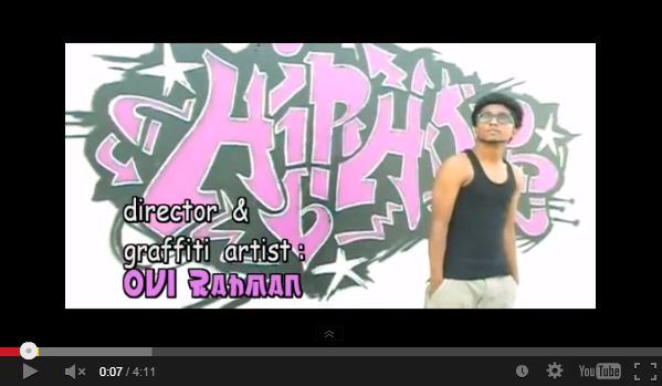 Watch Graffiti Artists in Bangladesh