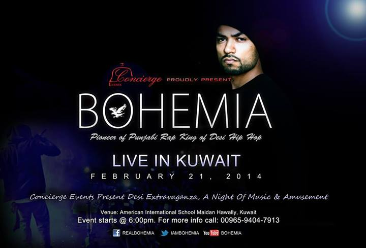 BOHEMIA - live in Kuwait, Feb 21 2014