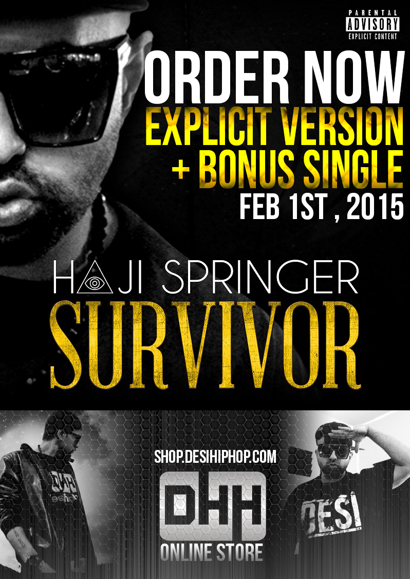 haji springer survivor explicit