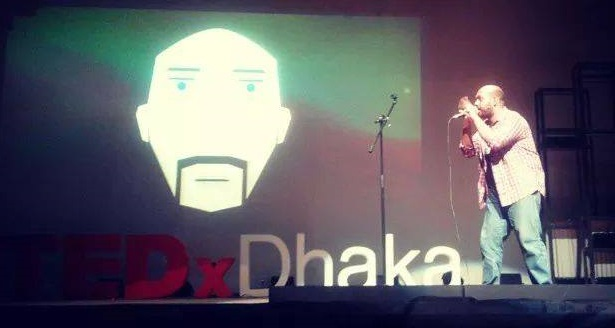 Shanto aka BeatBaksho at TEDxDhaka