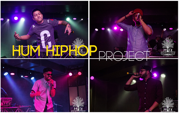 Hum Hip Hop Project Slyck Urmi Young Dirtt Smokey the ghost