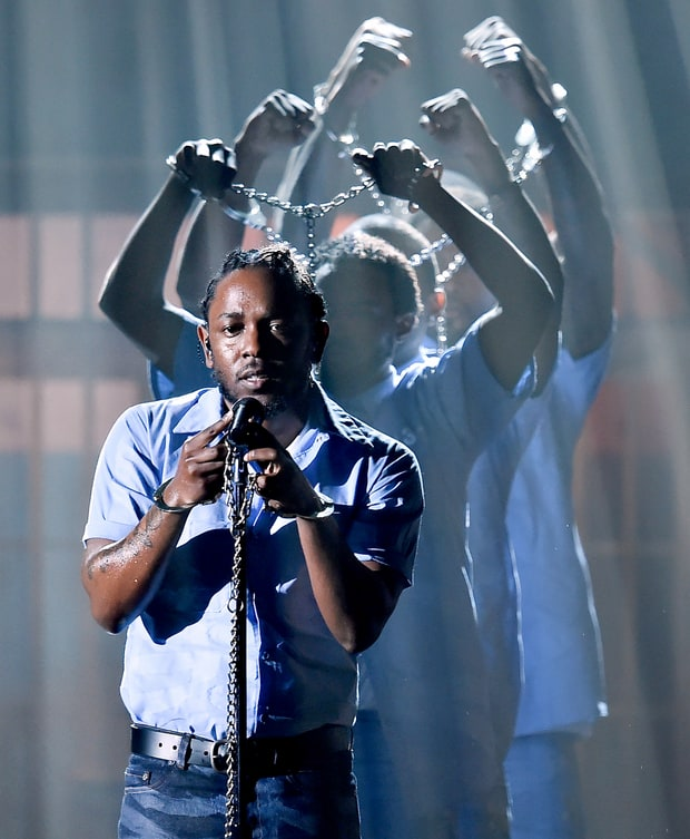 King Kendrick Wows the World at the Grammys