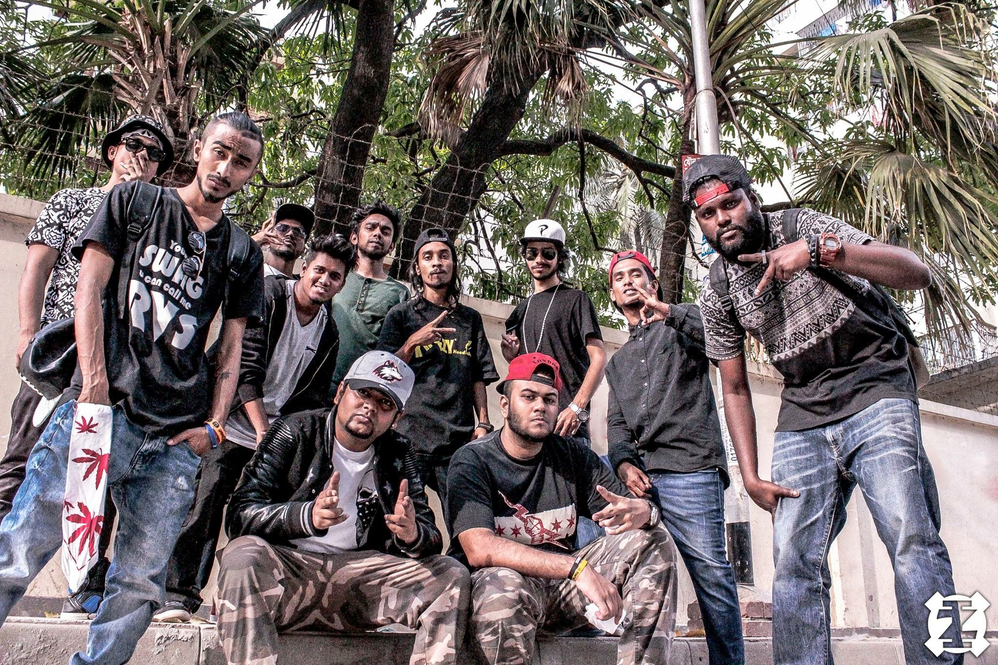 unity thru hiphop in Bangladesh