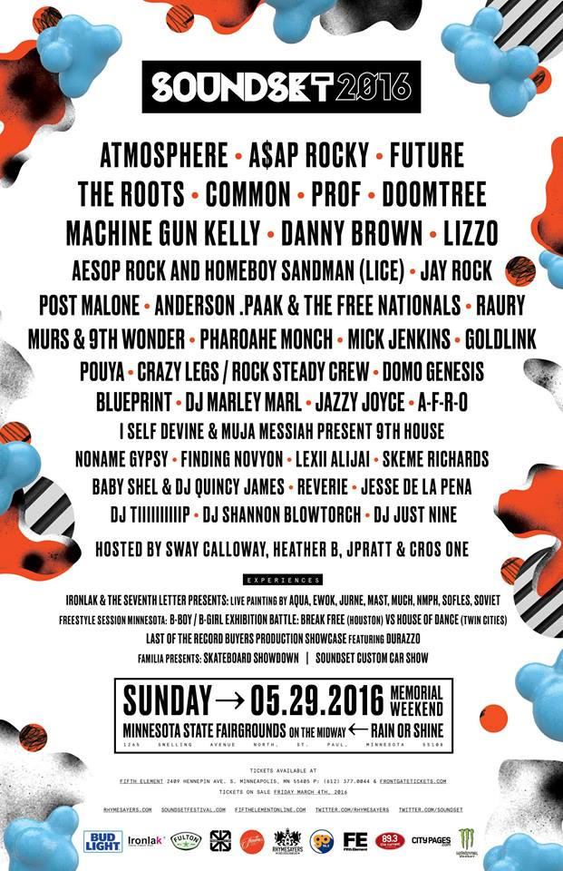Soundset Music Festival 2016