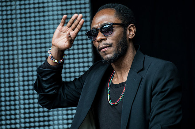 Yasiin Bey aka Mos Def saluting his supporters and fans