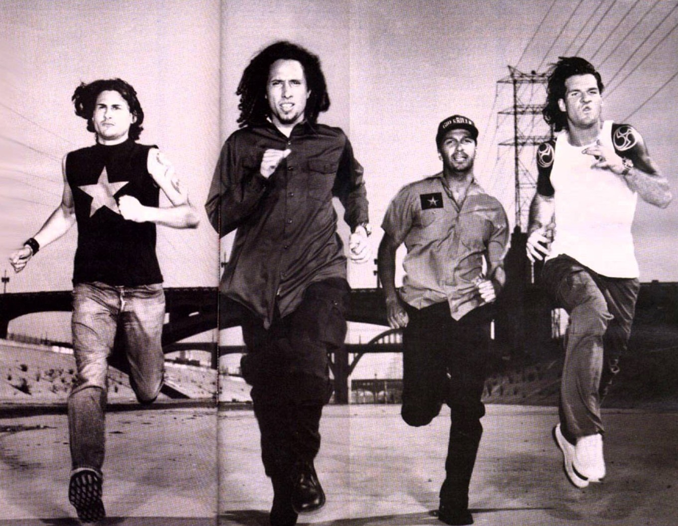 rage against the machine rap metal bands