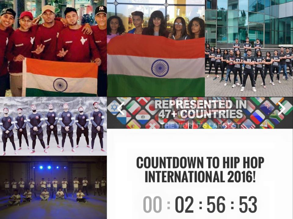 The Indian Dance Crews Represent at The World HipHop Championship
