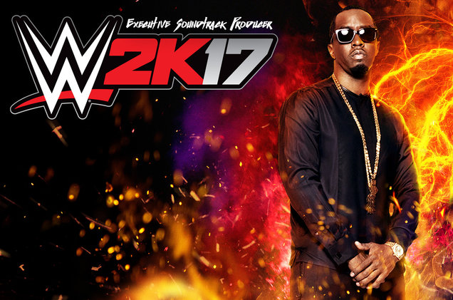 diddy to present wwe 2K17 soundtrack