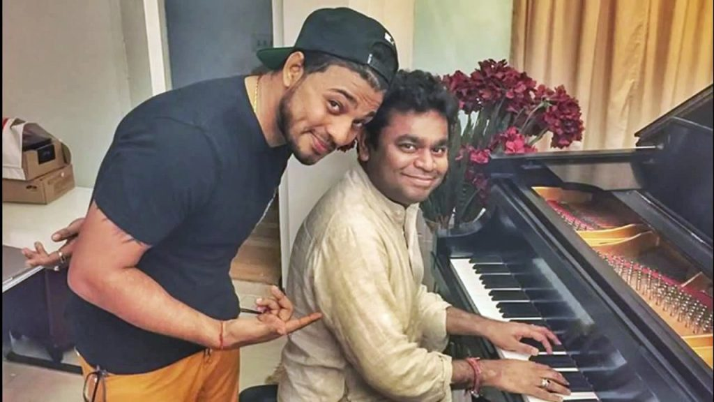 A.R. Rahman and Raftaar