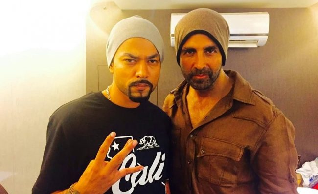 Bohemia and AKshay Kumar-Sony Music Image