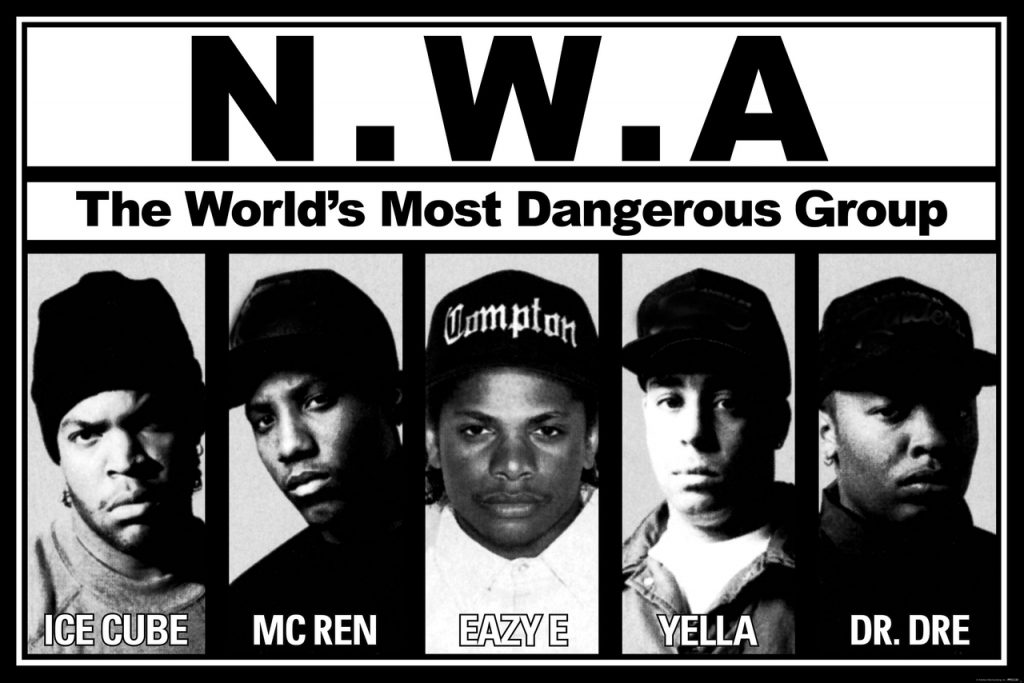 nwa gangsta rap