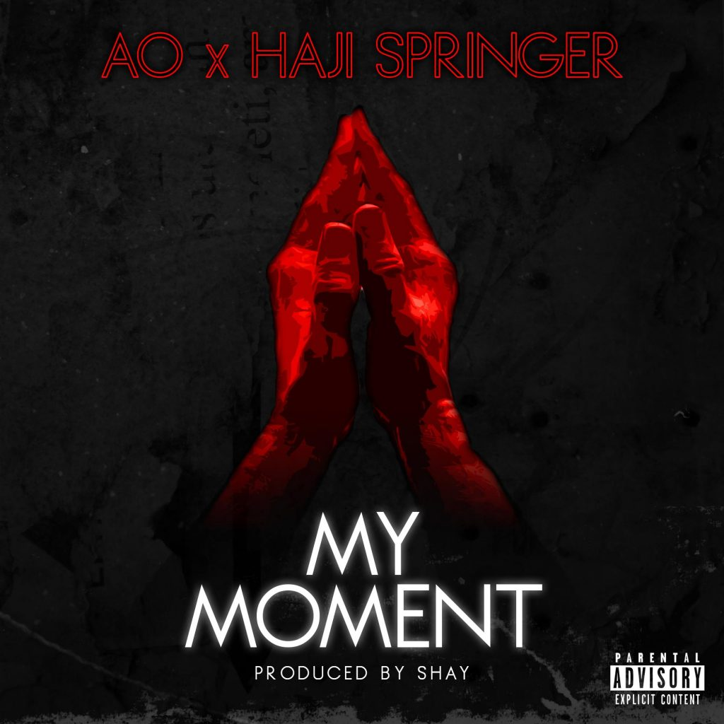 haji springer AO my moment poster