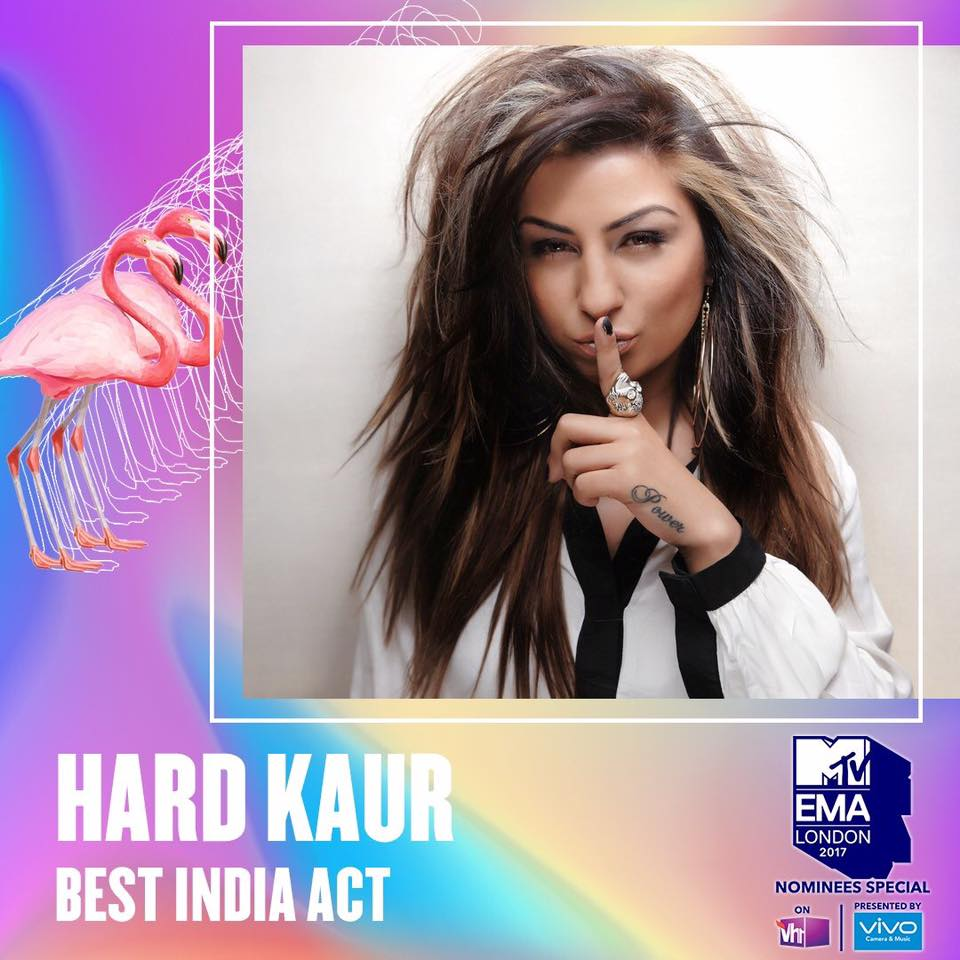 hard kaur mtv ema