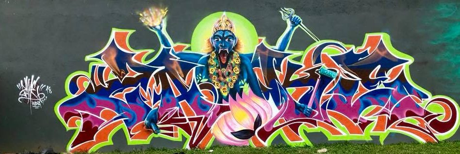 Graffiti Writers Zake, Mooz & NME Represent India At Brazil!