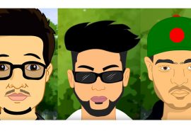 Stave Sonata drops First Animated Bangla Hip Hop Music Video – with Towfique, Raz Dee, Shafayat